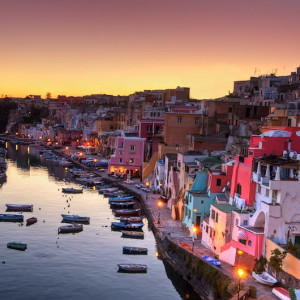 Island of Procida - The unbelievable colours of the village of Corricella