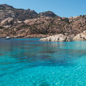 Island of Caprera - The beautiful Cala Coticcio
