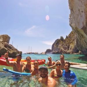 Isle of Capri - Fun & games at Tiberius' pools
