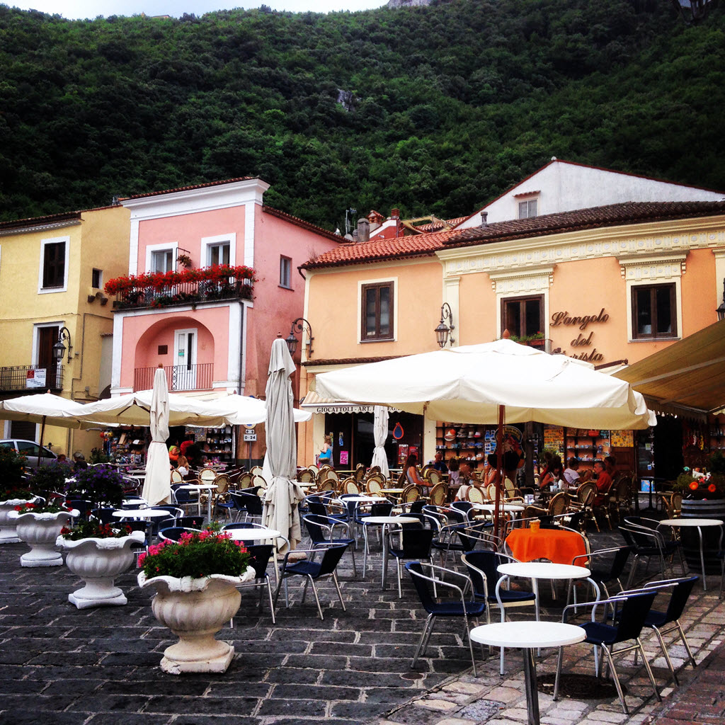 Maratea - View of the gorgeous Old town